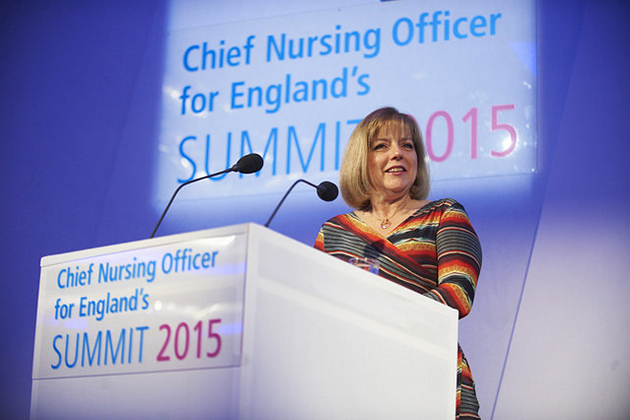 Professor Jane Cummings talks at the CNO Summit