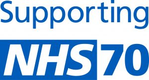 Supporting NHS70 logo