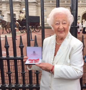 Ethel Armstrong MBE