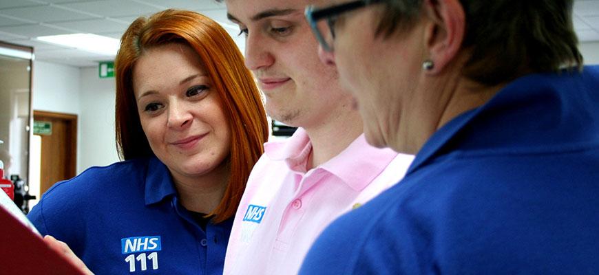 NHS 111 staff