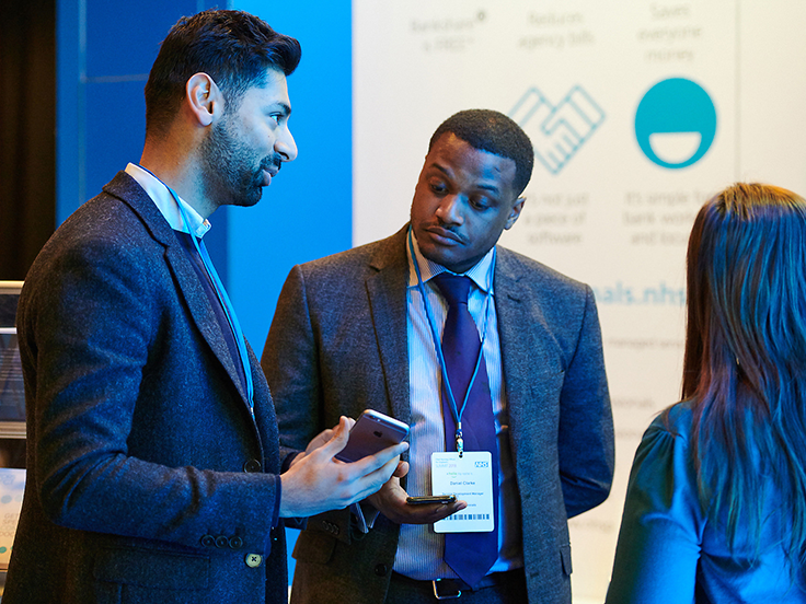 Sponsors and exhibitors at the CNO Summit 2018