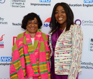 Retired nurse Beatrice Akyeampong, who was recognised alongside her daughter, Dr Vanessa Apea, a sexual health consultant, for their tireless work to improve health inequalities.