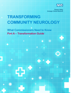 Cover page of 'Transforming Community Neurology' report