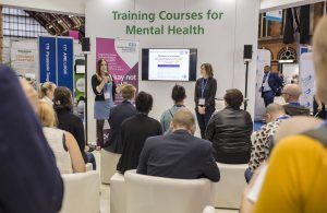A mental health session takes place at Expo