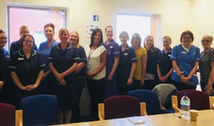 Nursing and admin representatives from 11 practices in Yorkshire and Humber