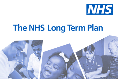 The front cover of the NHS Long Term Plan