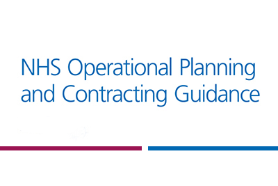 NHS Operational Planning and Contracting Guidance