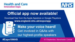 NHS England » Expo 2019 App