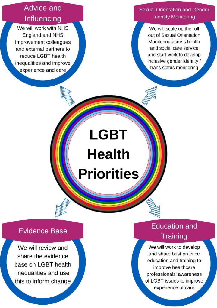 LGBT health priorities