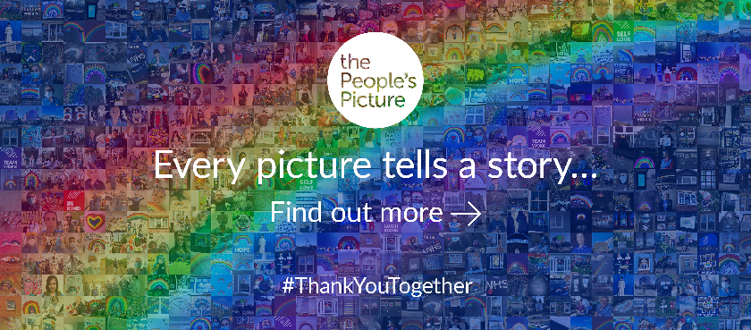 The people's picture. Every picture tells a story. Find out more. #thankyoutogether
