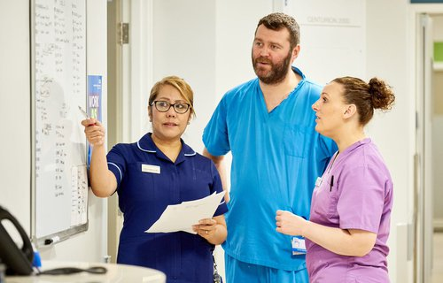 Nursing staff meeting