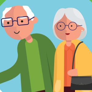 Older man and woman