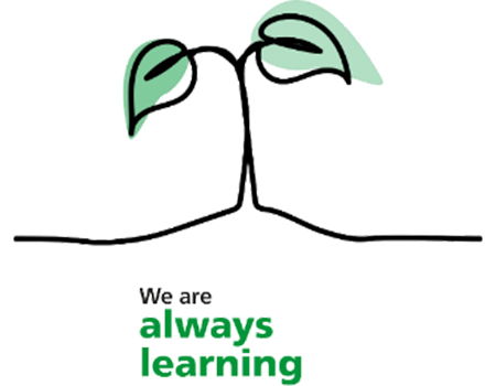 We are always learning