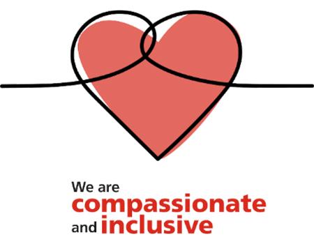 We are compassionate and inclusive