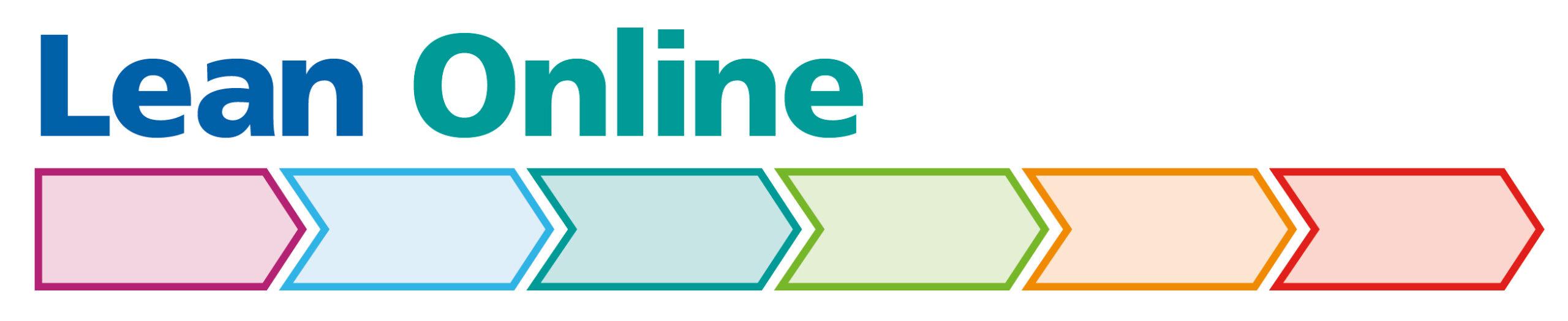 Lean Online Programme arrows